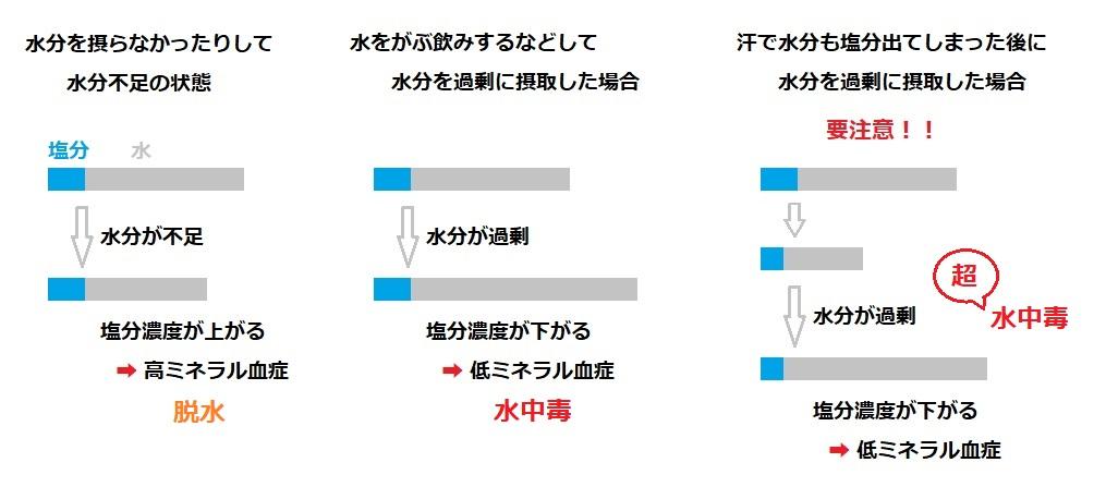 3-1.ナトリウム濃度の変化が原因