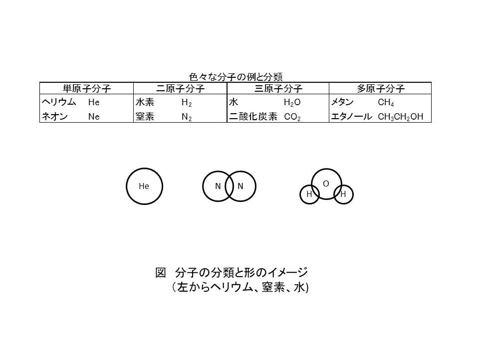 1-1 分子の分類